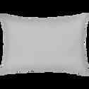 Coussin en coton gris borie 40x60cm-CALANQUES