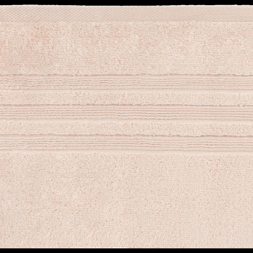 Serviette invité 30x50cm rose grège-NOUN