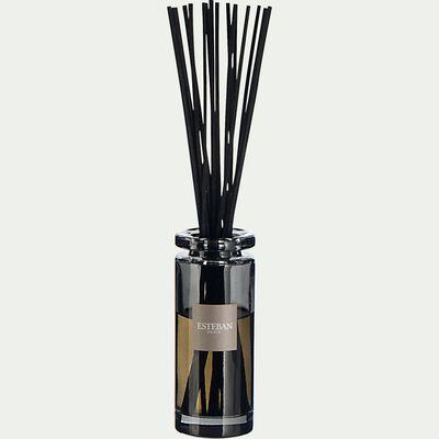 Bouquet parfumé teck et tonka avec recharge - 75ml noir-TECK ET TONKA