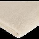 Serviette en coton 50x100cm beige roucas-AZUR