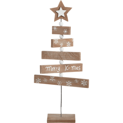 Sapin à poser en bois H42cm-NORD