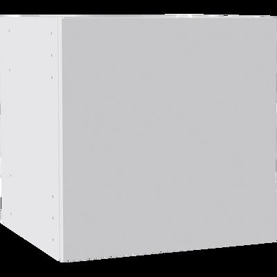 Bloc 1 porte blanche pour meuble à cases L35cm-BRIK