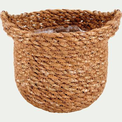 Cache-pot - naturel H12xD13 cm-NELIS