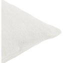 Coussin en lin lavé blanc ventoux 40x60cm-VENCE