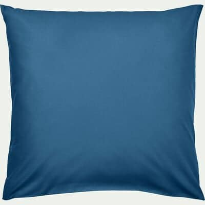Taie d'oreiller enfant en coton 65x65cm - bleu figuerolles-Calanques