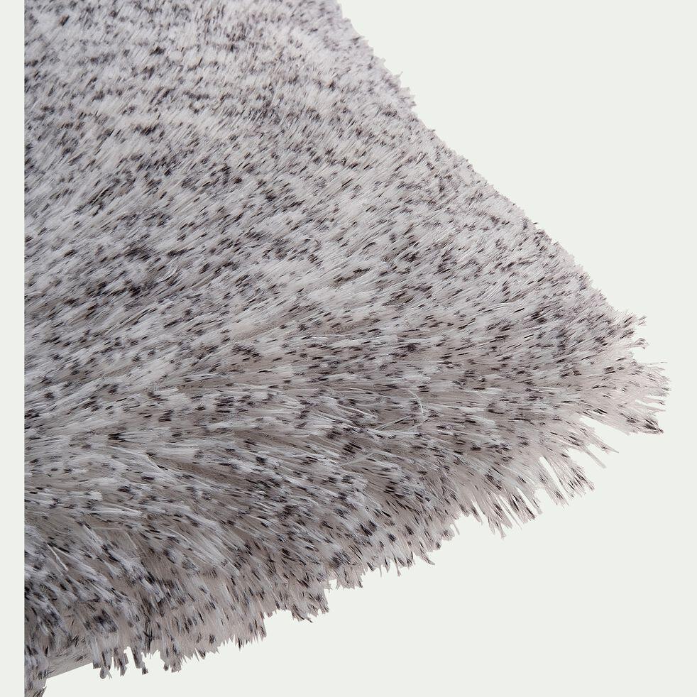 Coussin carré en tissu 45x45cm - gris-GALINETO