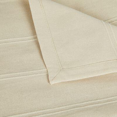 Couvre-lit tissé en coton - beige roucas 230x250cm-BELCODENE