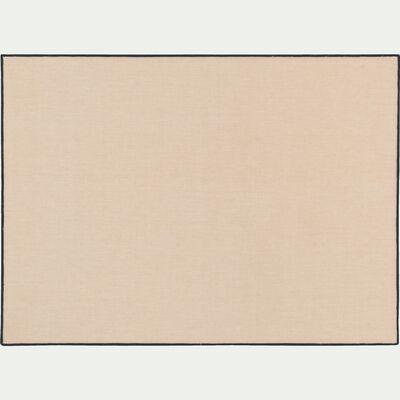 Sets de table en coton blanc et noir 36x48cm-LINIA