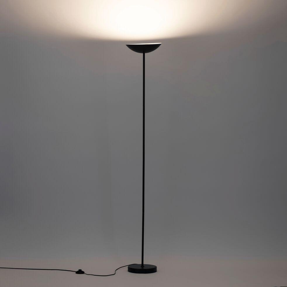 Lampadaire en métal - noir H178,5cm-JERSEY
