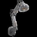Applique en métal gris restanque 36x40x12cm-XXL