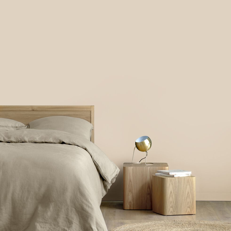 Peinture acrylique mate multi-supports - beige roucas 1L-PEINTURE