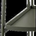 Étagère en acier vert cèdre H90cm-MONTECRISTO
