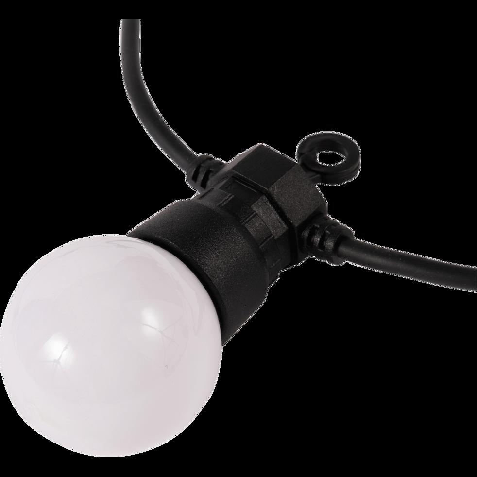 Guirlande lumineuse 20 LED blanc chaud L8,7m-PARTY MILKY