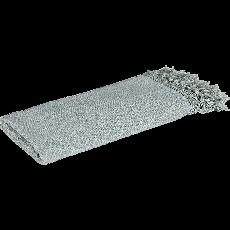 Serviette invite 27x45cm vert-THAOS