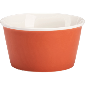 Coupelle en porcelaine rouge D12,5cm-CAFI