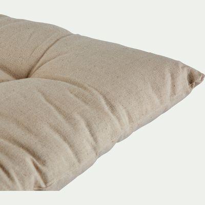 Coussin d'assise pour banc beige roucas 120x40cm-EMILIE