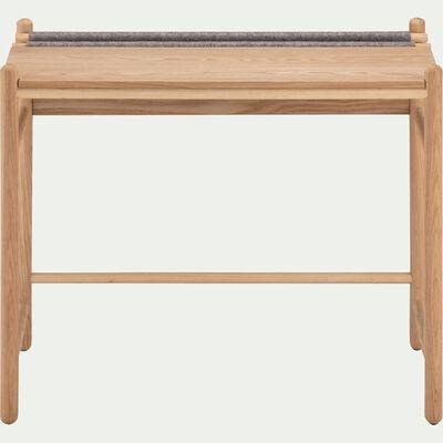 Bureau pour enfant en bois et feutrine-THEOULE