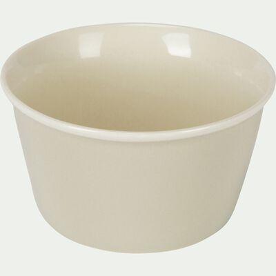 Coupelle en porcelaine beige roucas D12cm-CAFI