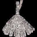 Décoration lumineuse 45cm - 72LED blanc chaud-CASSIOPEE