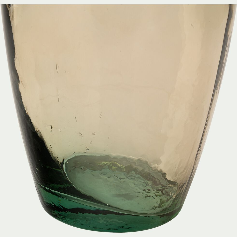 Vase en verre recyclé - rose sable H100cm-AJJA