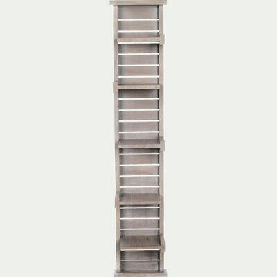 Étagère de salle de bains en épicéa 125cm-Marine