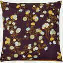 Housse de couette et 2 taies d'oreiller motif fleuri - rouge 260x240cm-GIOLY