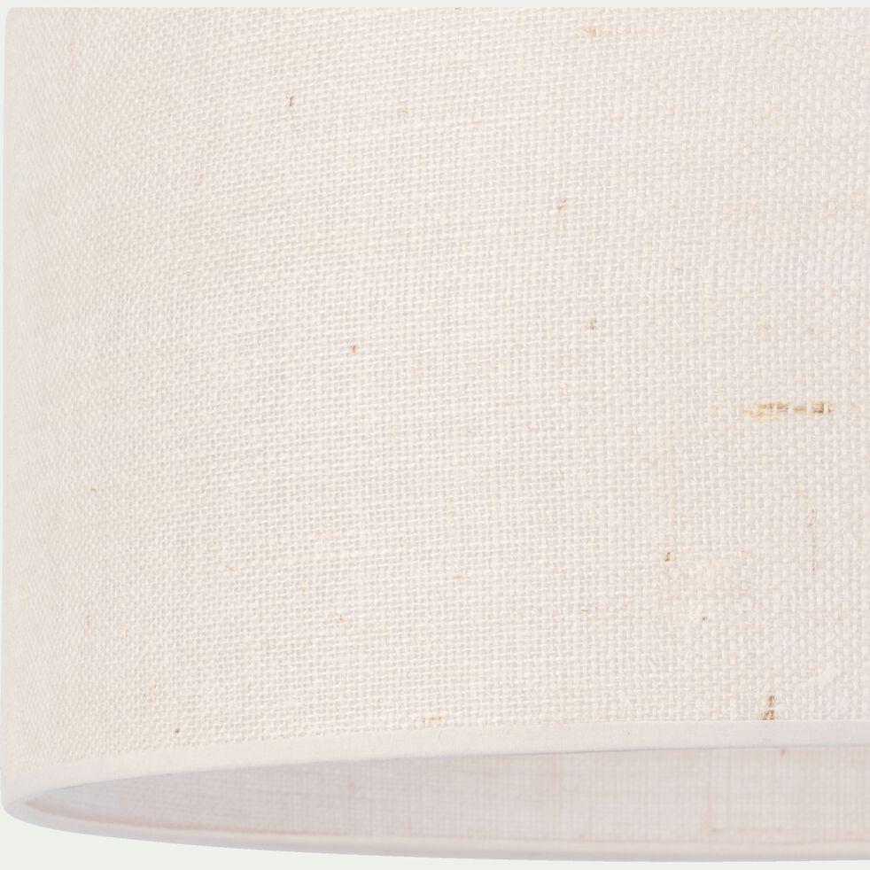 Abat-jour en jute - D50x25cm beige-KONE
