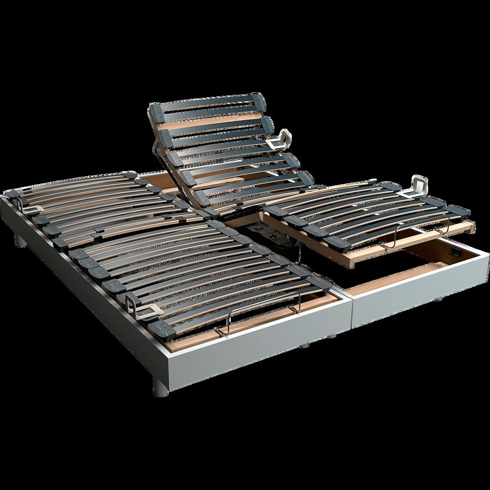 Sommier de relaxation Alinea 12,5 cm Blanc - 90x200 cm-TECHNOBED