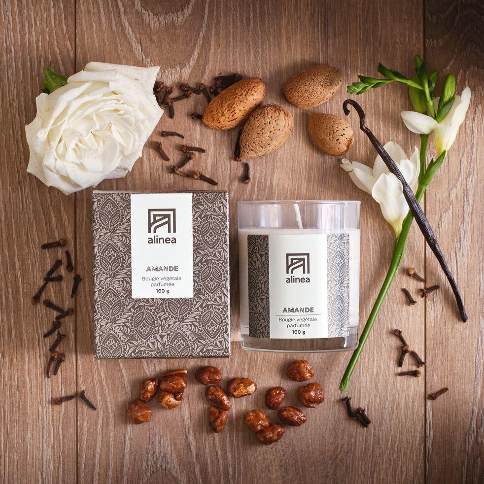Bougie parfumée senteur Amande 160g-AMANDE