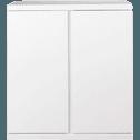 Bloc blanc 2 portes-Lorena