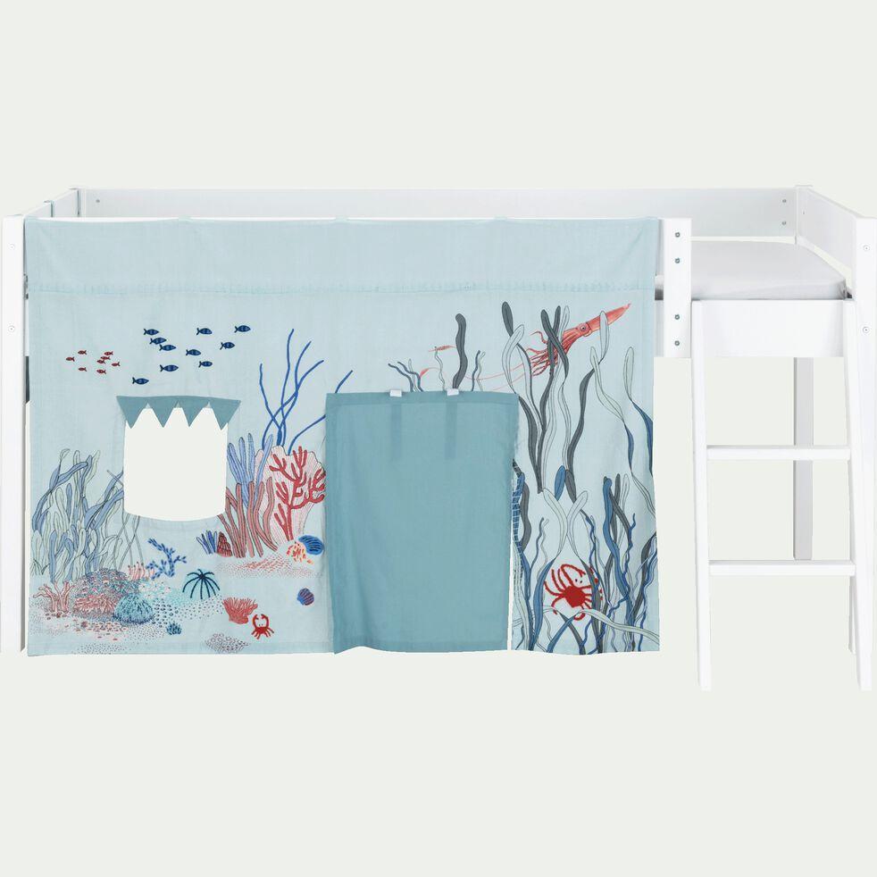 Tente de lit enfant à motif Marin - L106xl152cm-Mas