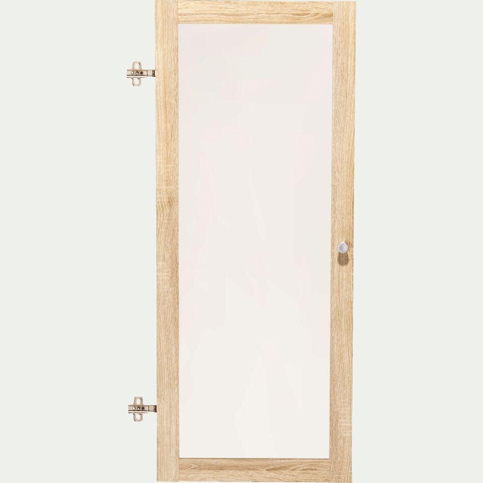 Porte vitrée - chêne clair-Biala
