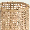 Photophore en bambou - D23,5xH80cm naturel-MARSAL