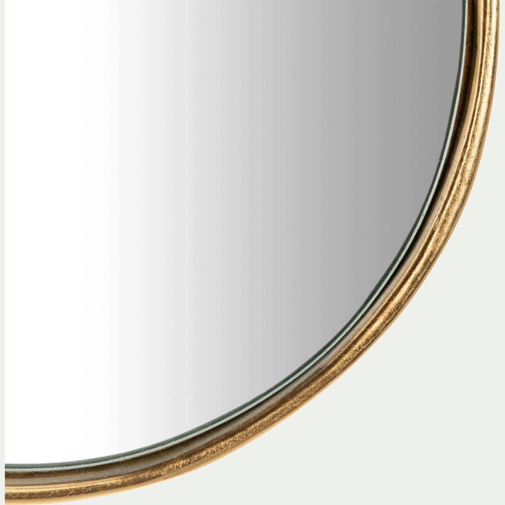 Miroir allongé cadre doré 44x15 cm-DOURO