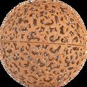 Boule décorative en métal (plusieurs tailles)-BOULE