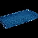 Drap de douche en coton 70x140cm bleu figuerolles-ETEL