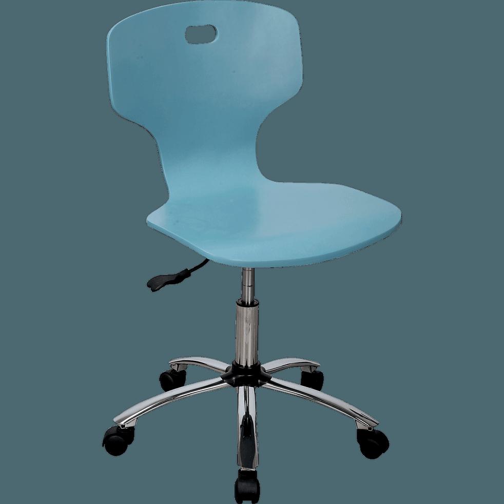Chaise de bureau enfant Bleu-STAR