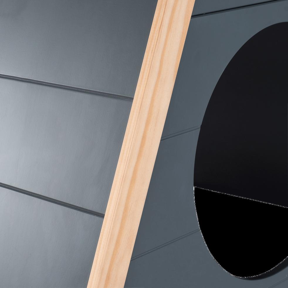 Lit en forme de tipi Gris restanque - 90x200 cm-TIPI
