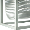 Porte-revue en métal vert L40xl18xH36cm-MALA