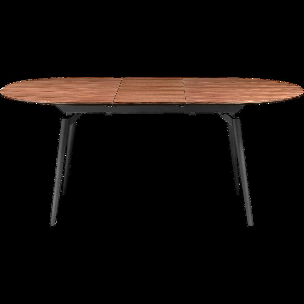 table extensible plaqu e noyer 4 8 places corenthine. Black Bedroom Furniture Sets. Home Design Ideas