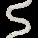 Guirlande de noël en laine blanche L182cm-AGATHE