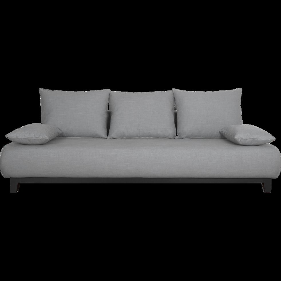 canap 5 places fixe en tissu gris restanque gloria canap s en tissu alinea. Black Bedroom Furniture Sets. Home Design Ideas