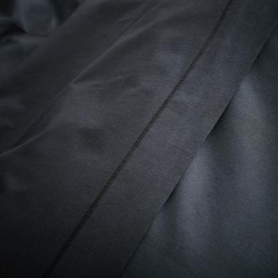 Linge de lit en coton gris calabrun-CALANQUES