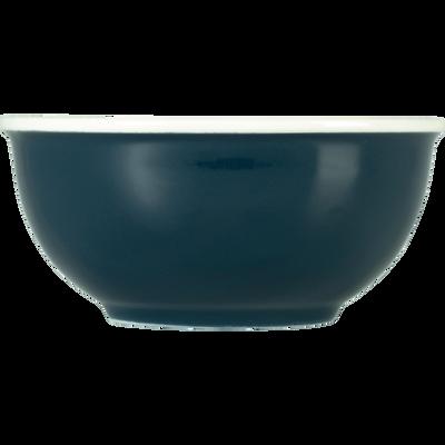 Bol en porcelaine bleu figuerolles D12cm-CAFI