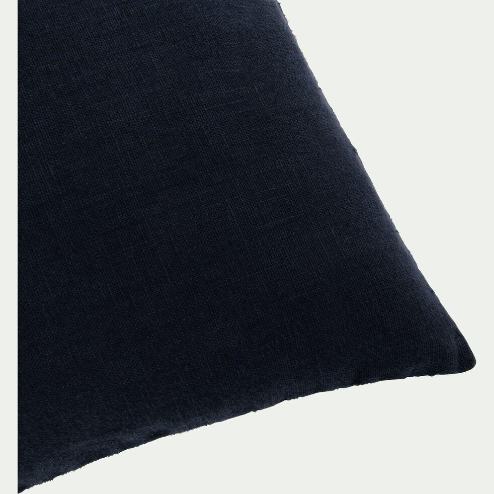 Coussin en lin lavé - gris calabrun 40x60cm-VENCE