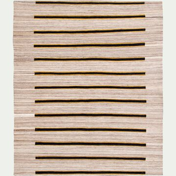 Tapis motifs à rayures en laine - multicolore 170x240cm-KIMO
