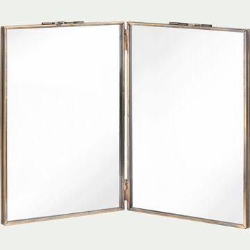Cadre multi-vues en fer - L13xl1xh18 cm noir-PRATIHARA