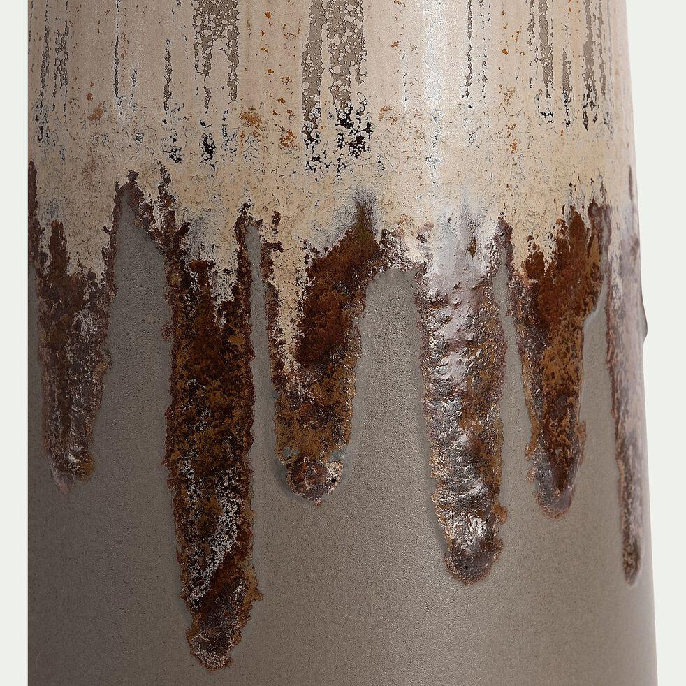 Vase en céramique - vert H45cm-PATRIZIU