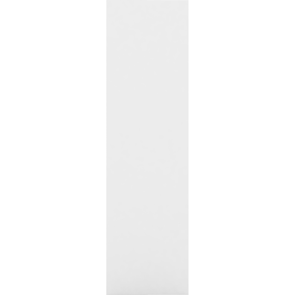 Montant de séparation blanc pour bibliothèque h125cm-LORENA