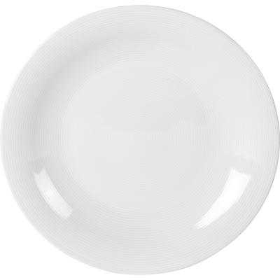 Assiette plate en porcelaine qualité hôtelière D27cm-ETO